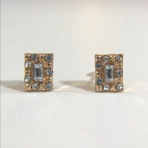 3/$12💛Mini Rhinestone Earrings